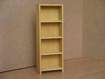 Bookshelves in Wood - O15B