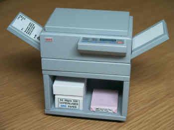 Photocopier on Stand