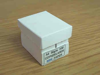 White Copier Paper Box - O5