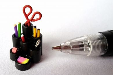 Multi-tubes Pen Holder - O7