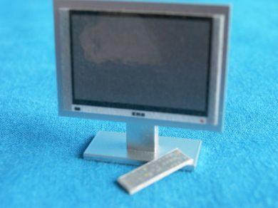Small Plasma TV on stand