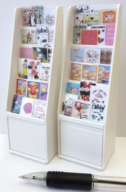 Greetings Card Display Stand Filled With Cards S130