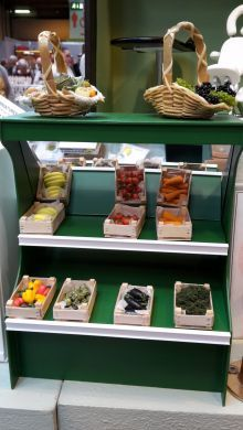 Greengrocery in Traditional Wood Crates