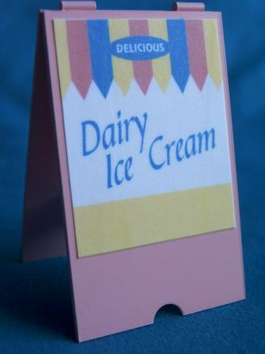 Dairy Ice Cream - 'A' Board - S80