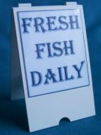 Fresh Fish Daily - 'A' Board - S77