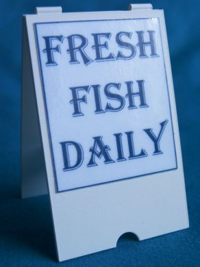 A  Board  Fresh Fish Daily