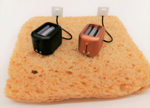 Toaster - Curved - H74 - Various Colours