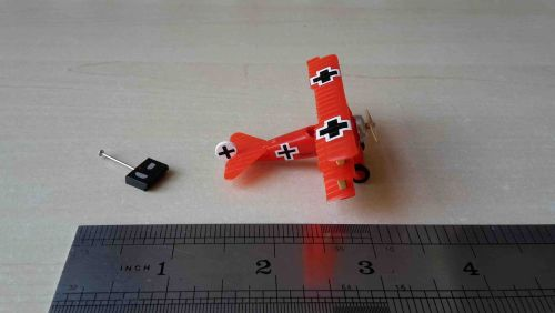 """Remote Controlled"" Red Baron Tri-Plane"