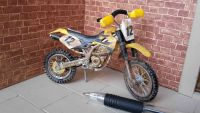 Motorbike - Yellow Scramble Bike