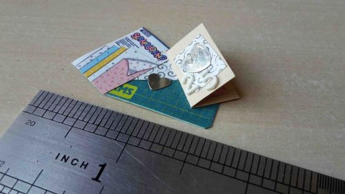 Hobby carding mat - 25th birthday