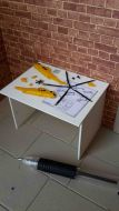 Hobby Table - Helicopter - Yellow