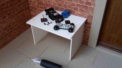 Hobby Table - RC Car Black