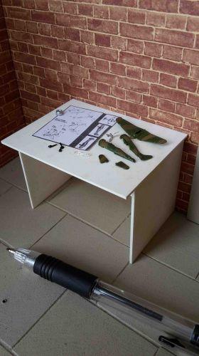 Hobby Table - Plane Kit - No toolbox