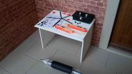 Hobby Table - Coastguard Helicopter