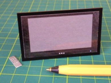 Plasma TV, Black to Wall Mount - M185