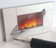 Wall Fire - Mirrored - M229