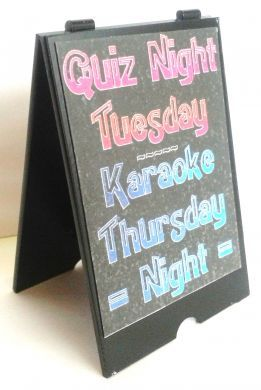 Quiz/Karaoke 'A' Board Sign for Bar - S119