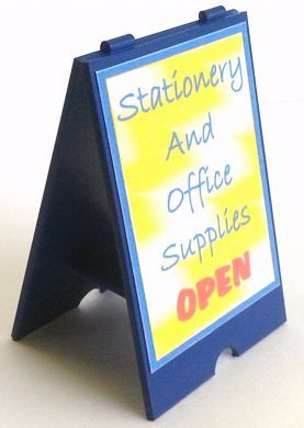 Stationery Shop 'A' Board Sign - S120