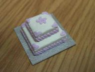 2 Tier Cake  square - CC12