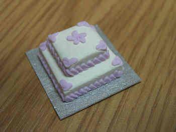 2 Tier Cake  square - CC12