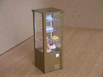 Cake Display Fridge with Cakes - CH14S