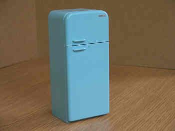 Fridge Freezer  Retro  Style - DA10 BLUE
