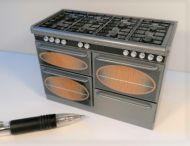 Cooking Range in Metallic Silver - DA15
