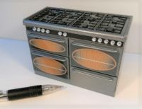 Cooking Range in Metallic Silver - DA15