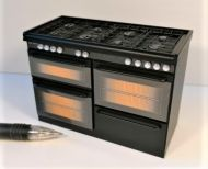 Range Cooker in Black  - DA15 BLACK