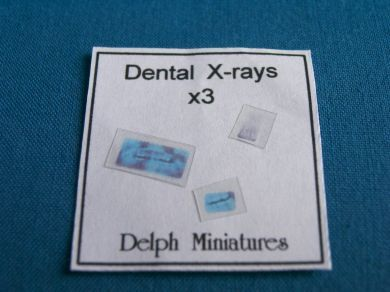 Dental Surgery Dental X-rays, set of 3 - DS11