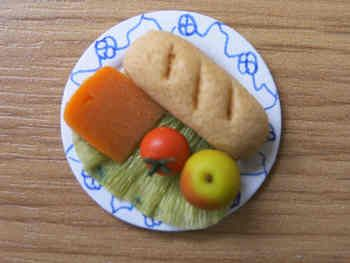 Pub Food - Cheese Ploughmans Lunch - F110