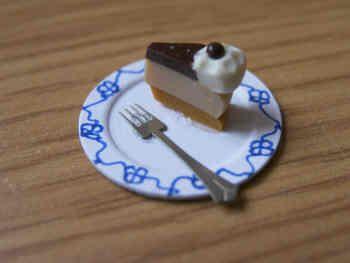 Cake portion