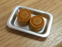Pork Pies in tray - F123