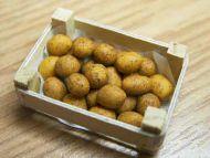 Potatoes in wood box - F174B