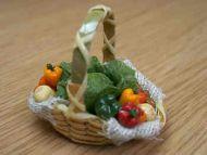 Vegetable Display Basket - F184
