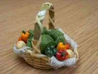 Vegetable Display Basket