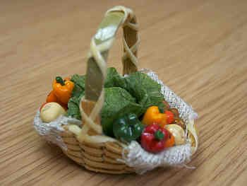 Vegetable Display Basket