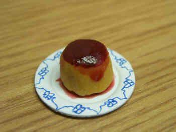 Jam Sponge Pudding