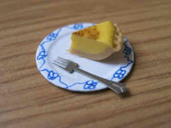 Custard Tart slice