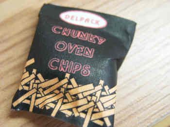 Frozen Chips packet - F226