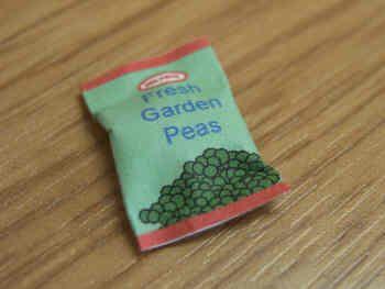 Frozen Peas packet