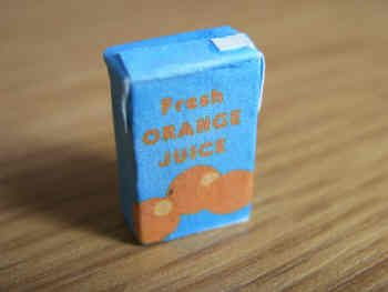 Juice Carton - Orange - F232