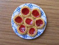 Jam Tarts on plate