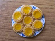 Lemon Tarts on a plate - F237