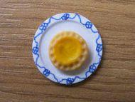 Lemon Tart on plate - F238