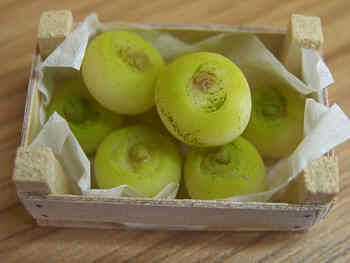 Turnips in box