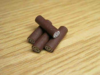 Chocolate Swiss Rolls - F26