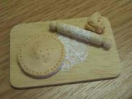 Baking Board with Pie