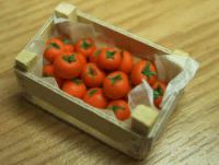 Tomatoes in a wood box - F4