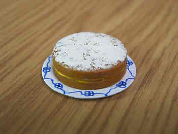 Victoria Sponge Cake  lemon filling